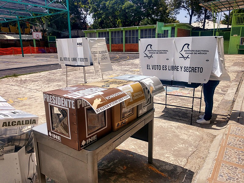 Mexico elections voting in 2018