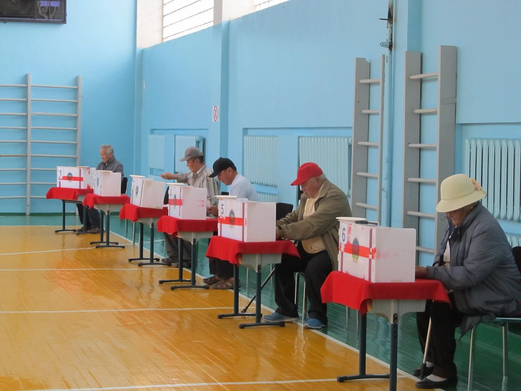 Mongolia elections voters