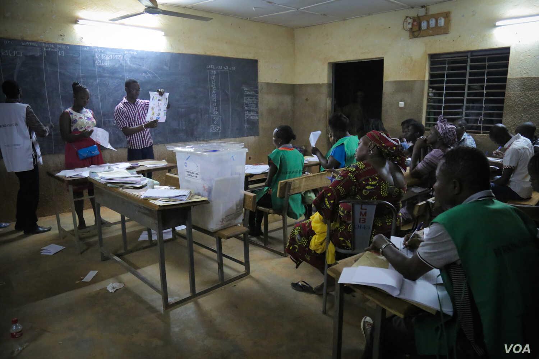 Burkina Faso elections