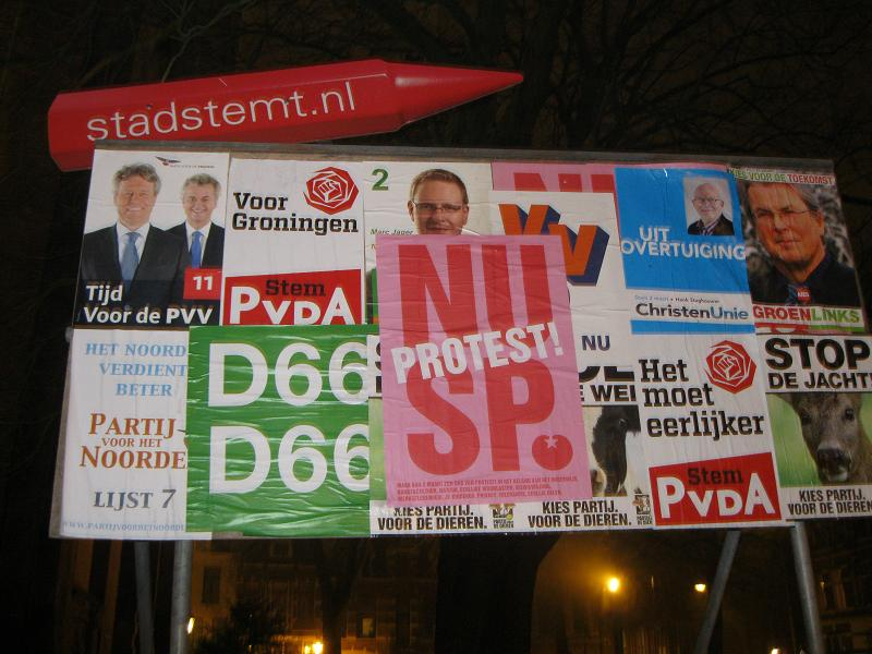 Netherlands elections